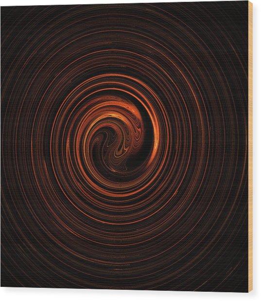 Spin Cycle 03 Wood Print