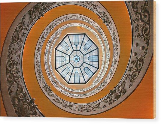 Spiral Wood Print