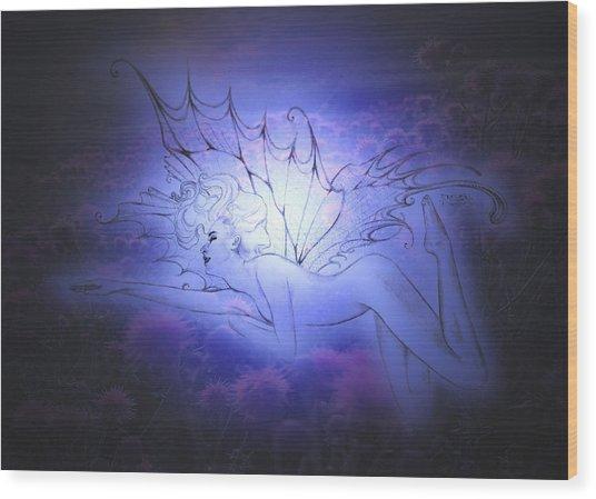 Spirit Fay Wood Print