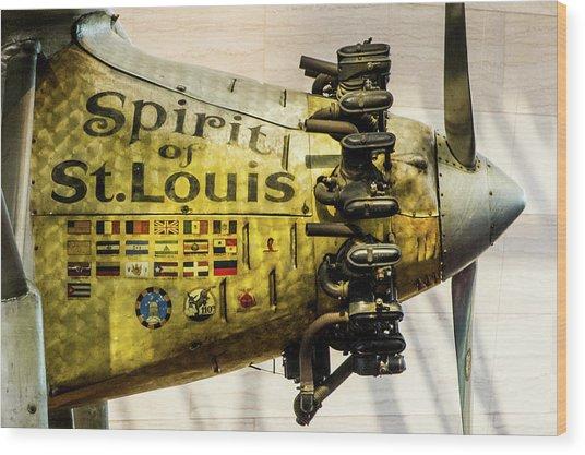Spirit Of St Louis Wood Print
