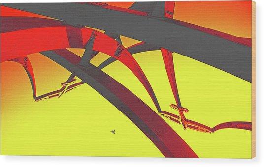 Spitfire Island Wood Print