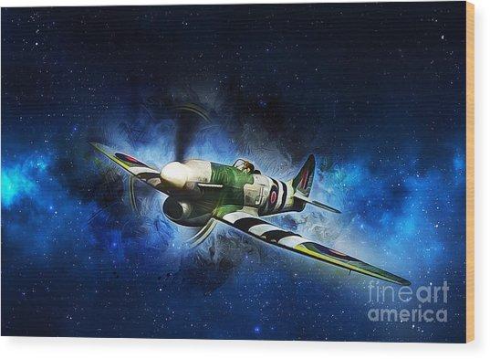 Hawker Typhoon Wood Print
