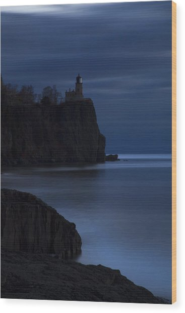 Split Rock 1 Wood Print