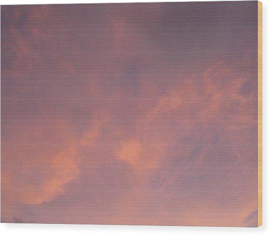 Spot Color  Wood Print