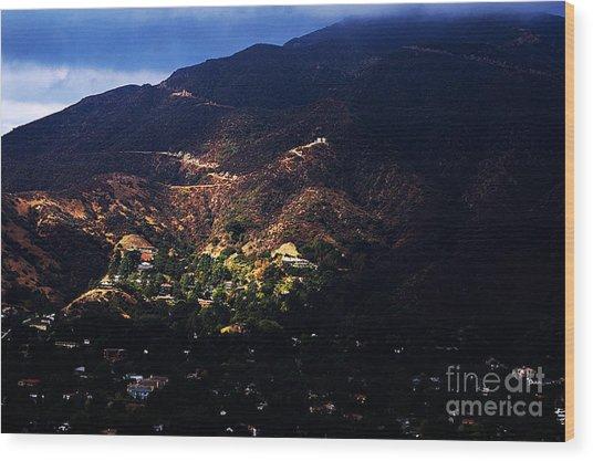 Spotlight From The Heavens Wood Print