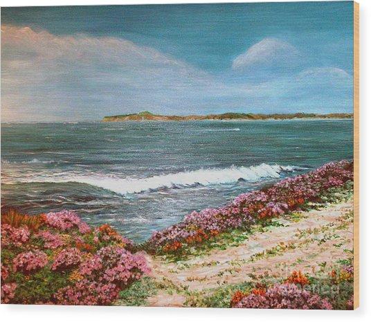 Spring At Half Moon Bay Wood Print