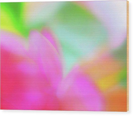 Spring Brights Wood Print