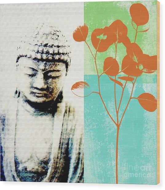 Spring Buddha Wood Print