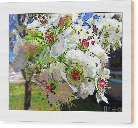 Spring Has Sprung Wood Print