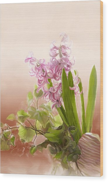 Spring Hyacinth Wood Print