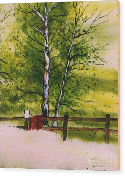 Spring In The Paddock Wood Print