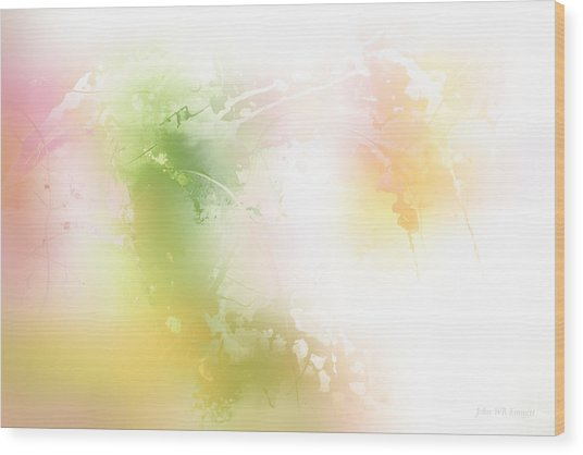Spring Iv Wood Print