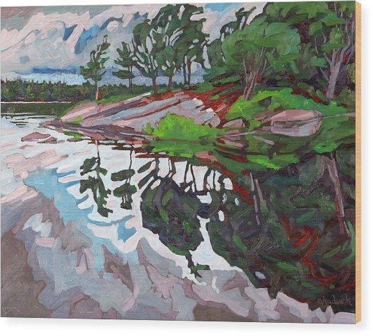 Spring Paradise Wood Print