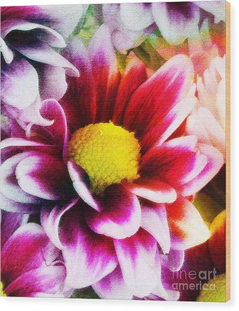 Spring Wood Print by Ramneek Narang