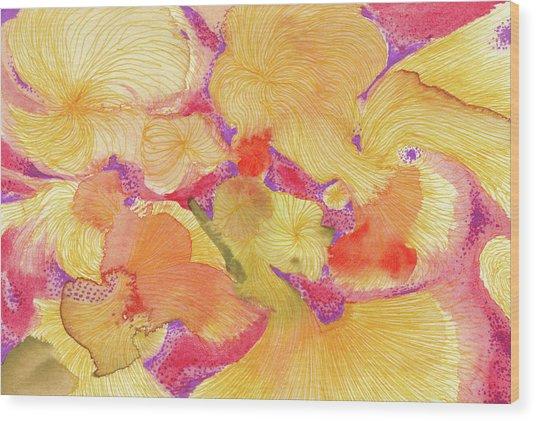 Spring - #ss18dw009 Wood Print by Satomi Sugimoto