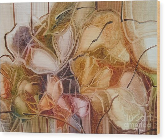 Spring Time 2 Wood Print by Fatima Stamato