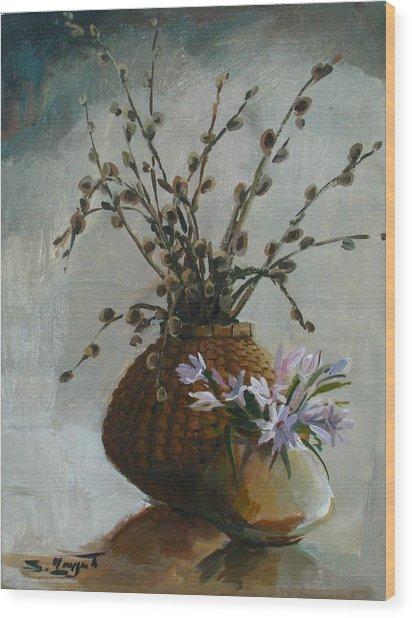Spring-time Wood Print