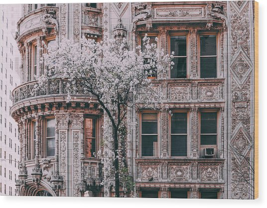 Spring West 58 And 7th Wood Print by Vincent James