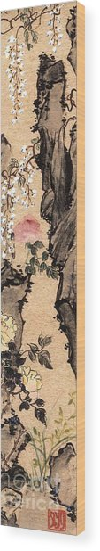 Springtime Wood Print by Linda Smith