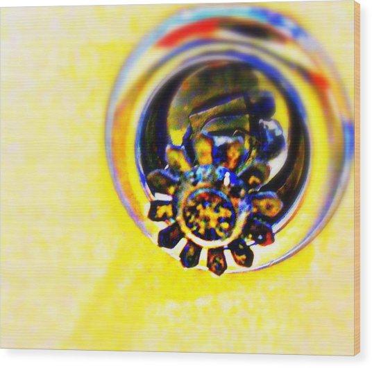 Sprinkler Wood Print