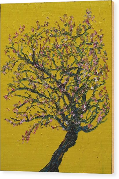 Sprung Wood Print by Jacob Stempky