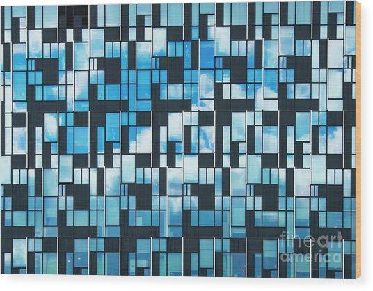Squaretangle Wood Print