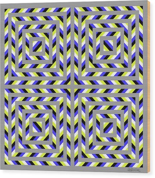 Squaroo Wood Print