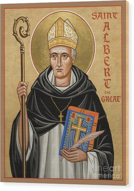 St. Albert The Great - Jcatg Wood Print