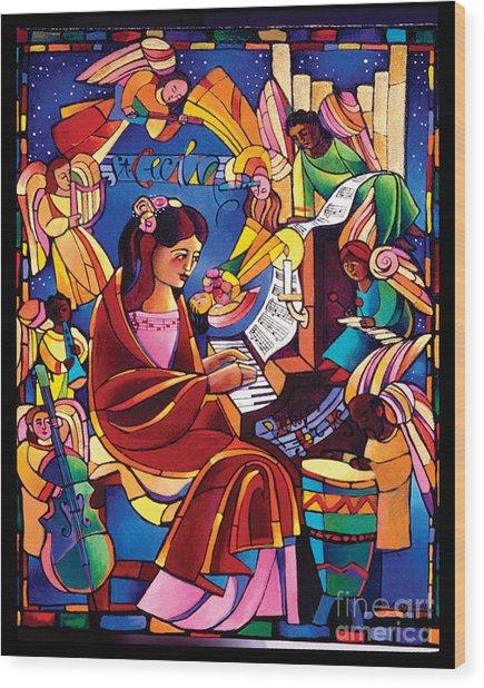 St. Cecilia - Mmcca Wood Print