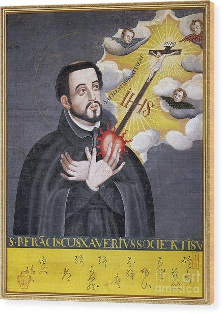 St. Francis Xavier Wood Print
