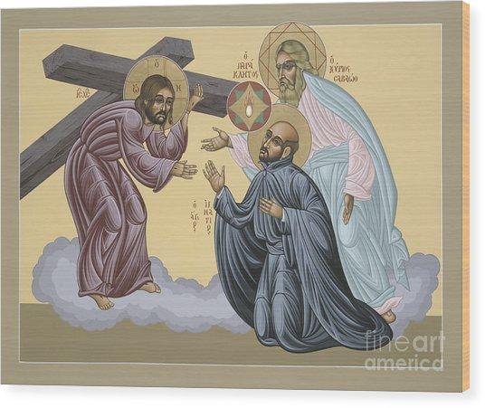 St Ignatius Vision At La Storta 074 Wood Print