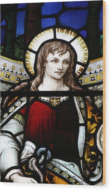 St James Wood Print by Jez C Self