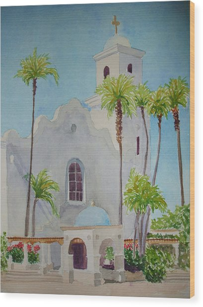 St John Of The Cross Wood Print by Ally Benbrook