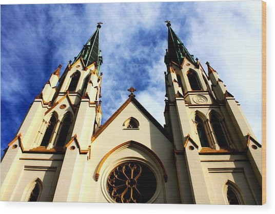 St. John The Baptist Cathedral Wood Print by Dana  Oliver