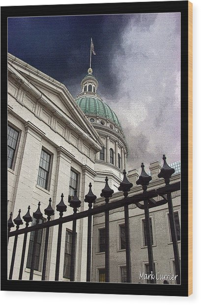 St Louis Courthouse Wood Print