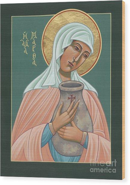 St Martha Of Bethany  Wood Print