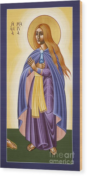 St Mary Magdalen Equal To The Apostles 116 Wood Print