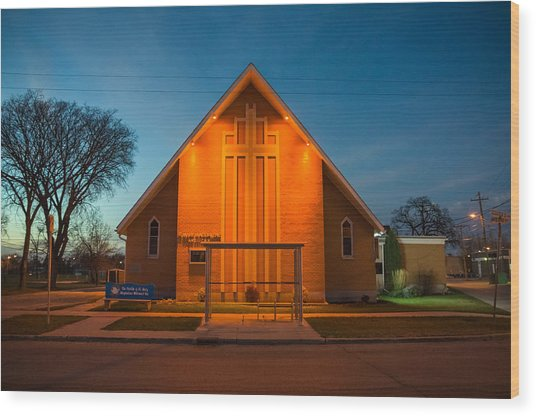 St. Mary Magdalene Anglican Wood Print by Bryan Scott