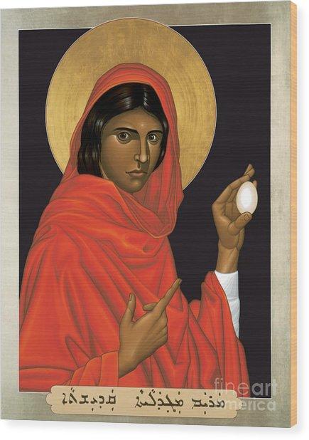 St. Mary Magdalene - Rlmam Wood Print