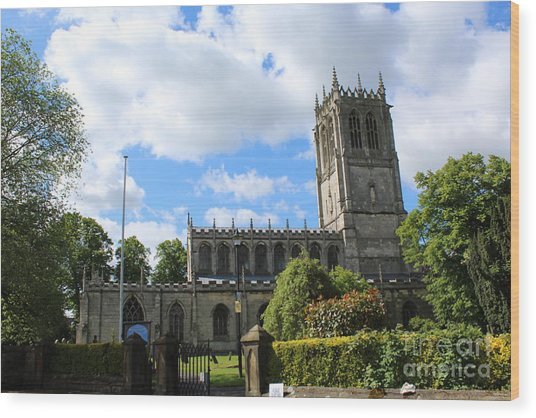 St. Mary's,tickhill Wood Print