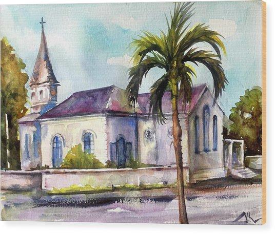St. Matthews Church, Nassau Wood Print