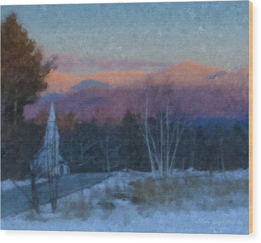 St. Matthews On Sugar Hill Road Wood Print