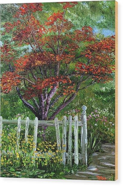 St. Michael's Tree Wood Print