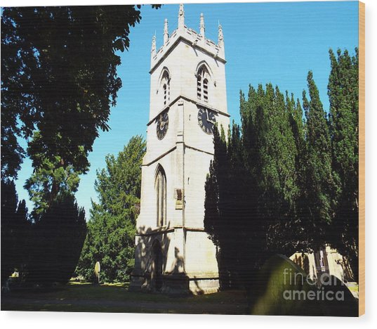 St. Michael's,rossington Wood Print