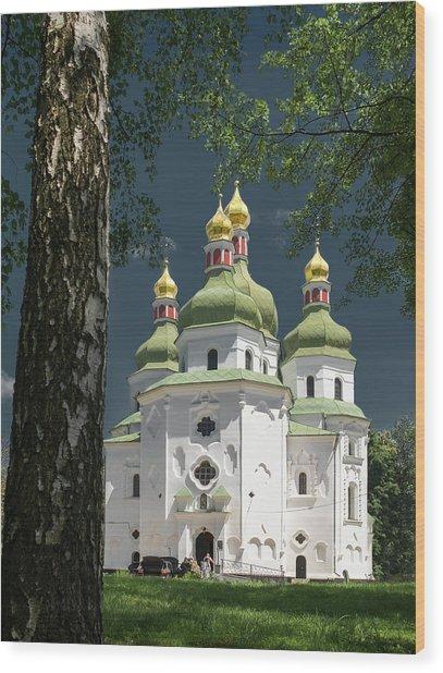 St. Nicholas Cathedral. Nizhyn, 2016. Wood Print