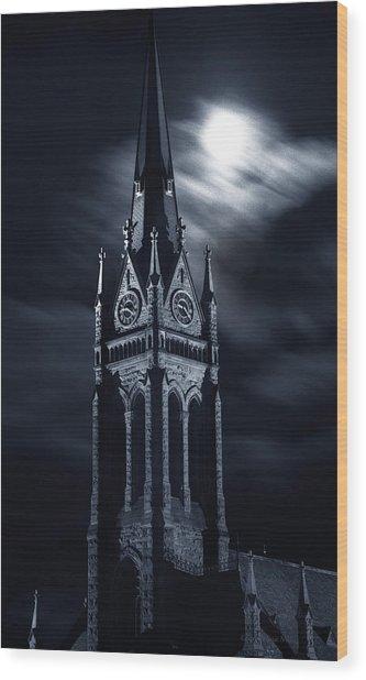 St Nicholas Church Wilkes Barre Pennsylvania Wood Print