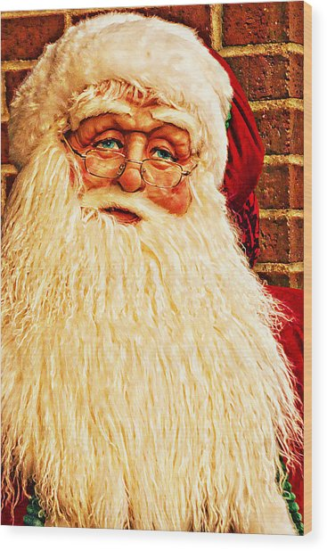 St. Nicholas Melting Canvas Photoart Wood Print