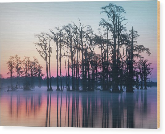 St. Patrick's Day Sunrise Wood Print