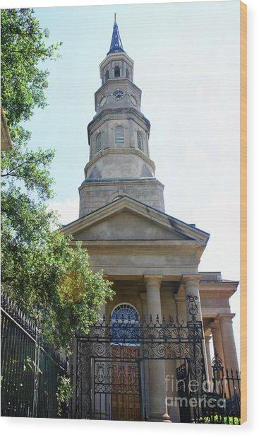 St. Phillips Episcopal Church, Charleston, South Carolina Wood Print