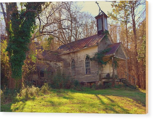 St Simon Church Peak Sc Wood Print
